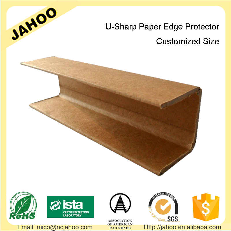 <strong>U</strong> Shape Edge Protection Paper Board to Avoid From Packaging