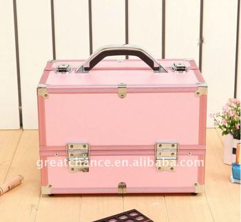 Professional Aluminum Makeup Artist Cosmetic Case(XY-252-1)