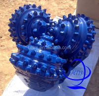 "API&ISO 17 1/2"" Tricone Drill Bit / Rock Bit with Gauge Protection,Shirttail / water well rotary drilling rig for sale"