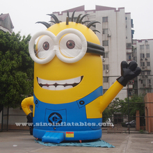 10 meters high giant inflatable Minion of Despicable Me from China Guangzhou inflatable factory