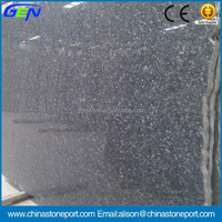 Hot Natural Stone Blue Polished Silver Pearl Granite Slab