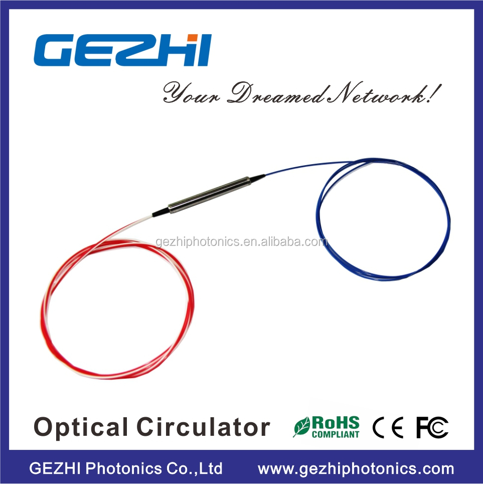 3port C+L band Polarization Insensitive fiber optic circulator with LC/SC/FC/APC connector