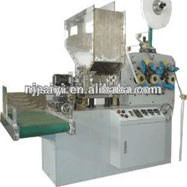 NANJING SUCCESS SB41 Automatic individual drinking straw wrapping machinery
