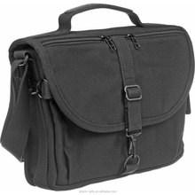Portable travel camera shoulder bag canvas satchel bag