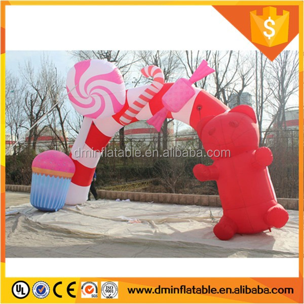 Inflatable christmas decoration arch