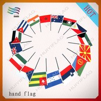 Cheap Eco-friendly Hand Flags for Promotion Gifts