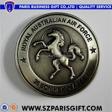 Australian 3d antique custom made silver coins for royral official