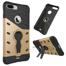 3 in 1 Strong antiproof armor Kickstand Design Sniper Hybrid TPU + PC case for Moto G4 Plus