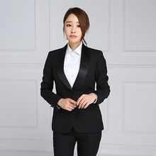 Office uniform formal designs 2 piece latest office ladies suits