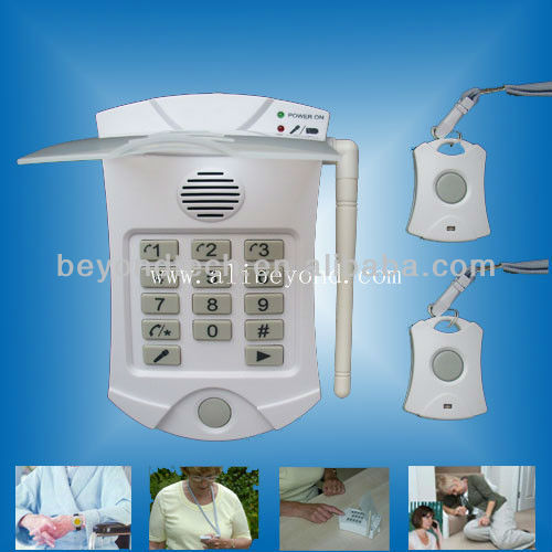 Intelligent Medical Alarm Device For Seniors With Bracelets Buttons