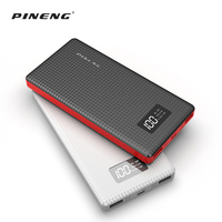Free Sample High capacity dual output interface Li-polymer battery slim 10000mah power bank