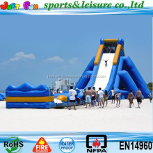 exciting inflatable screamer titanic inflatable beach water slide for sale
