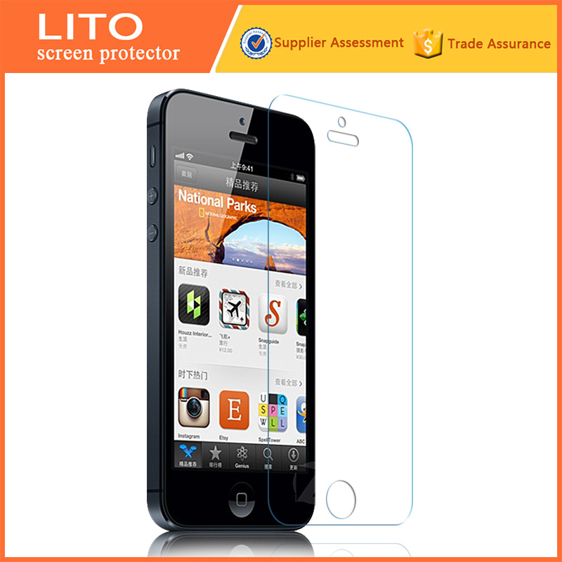 japanese quality transparent 0.26mm/ 0.33mm laptop tempered glass screen protector for ip5