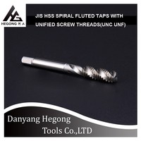 HEGONG TOOLS roll thread tap straight flute machine tap