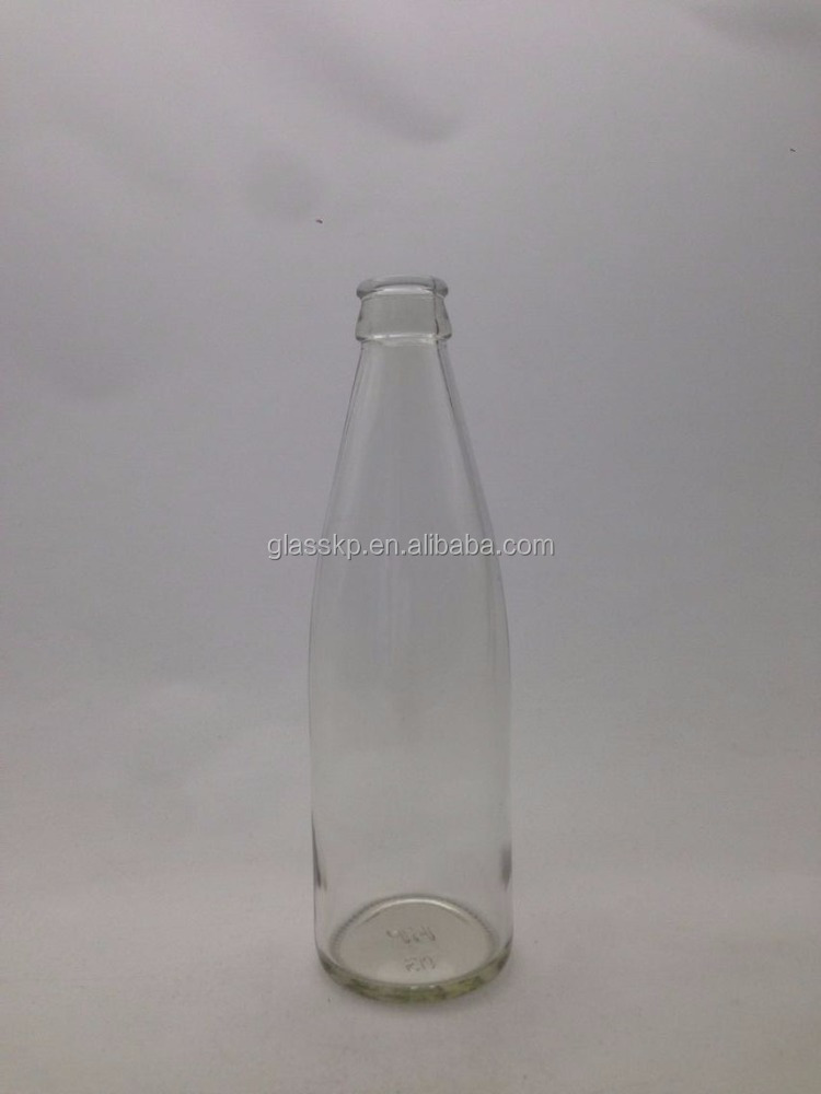 Wholesales 330ml clear glass soda bottles