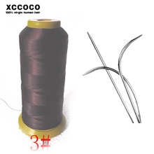 Professional Use For Sewing Hair Extension Weaing Needles And Thread, Hair Weaving Thread, Nylon Thread