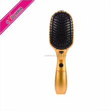 COOLHAIR Ionic Hair Brush Red magic ionic steam comb steam brush for straightening hair