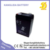 6v4ah battery for emergency lamp made in china deep cycle battery