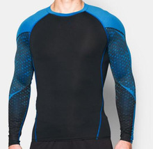 Fashion compression mens t shirt/ sports wear/ running fitness t shirt Wholesale family