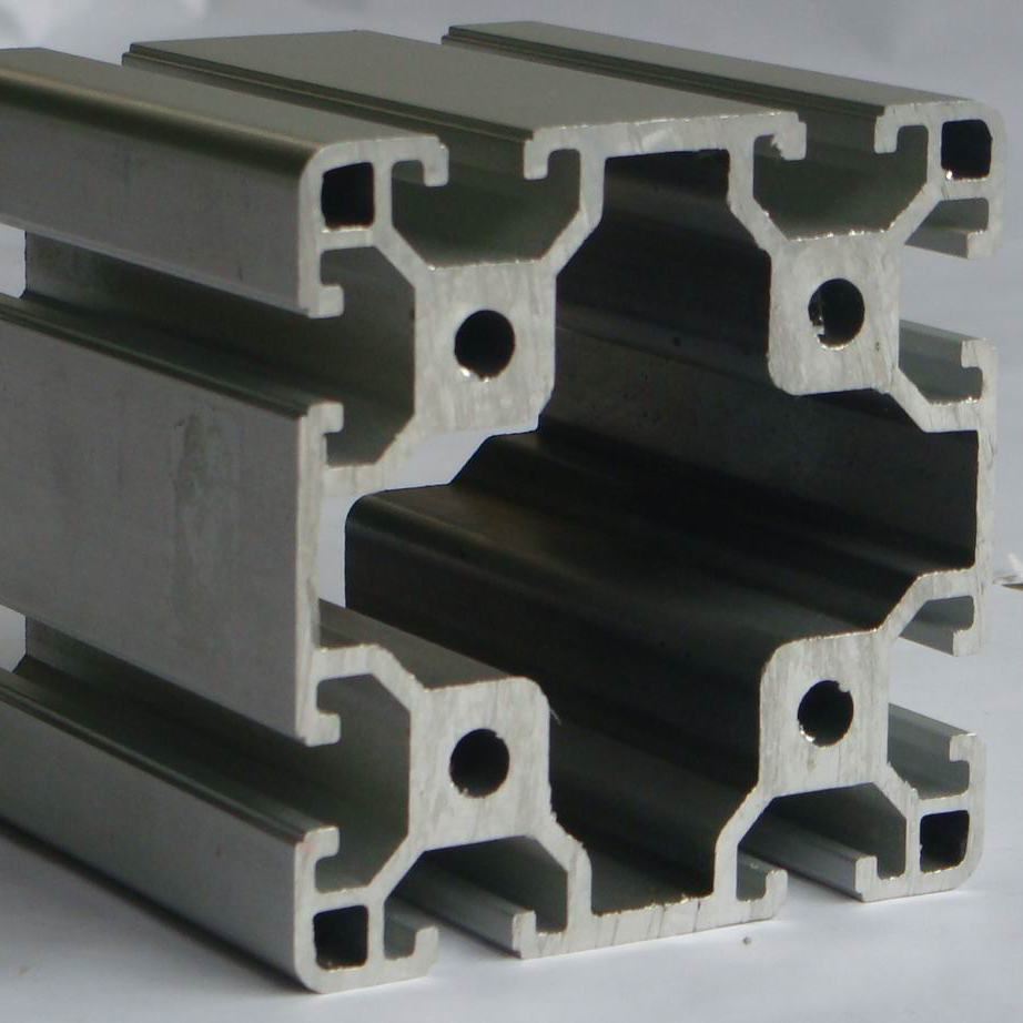 customized Anodized 8080 profile <strong>aluminum</strong> for extruded aluminium channel