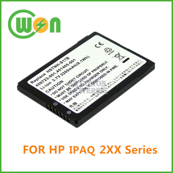Replacement Battery for HP iPAQ 200 210 211 214 HSTNH-S17B HSTNH-F17C Series 459723-001 PDA Battery