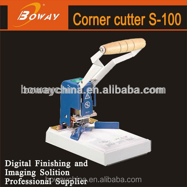 Boway service S-100 mini 6 dies manual paper corner punch tools