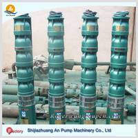 Electric irrigation submersible deep well pump