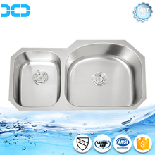 stainless steel vegetable washing sink water trough sink