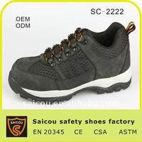diabetic safety shoes men factory SC-2222