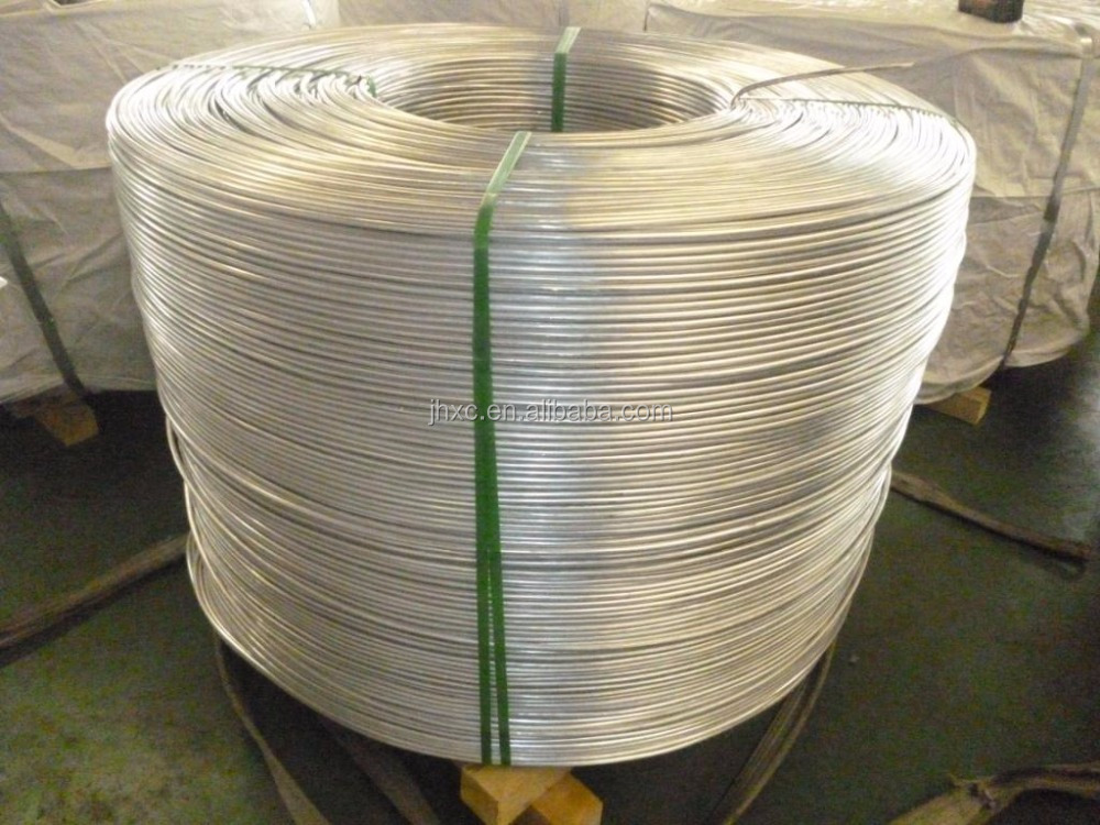 9.5mm Aluminum Wire Rod H12 with ASTM B233-97 for Copper clad Aluminium