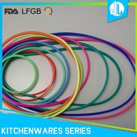 Silicone sealing colorful cheap o-ring food grade