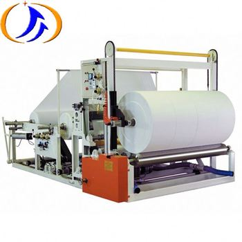 YDF-FWN1800-3500 Automatic Toilet Paper Processing Rewinding Machine