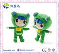 35cm Lovely Green Frog Dress Baby Plush Baby Toy