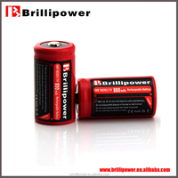 brillipower red 10a aw18350 800mAh 3.7v li-ion ups dry battery