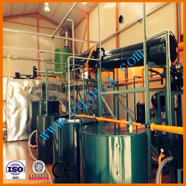 ZSA Waste Oil and Black Oil Reconditioned to Base Oil Vacuum Distillation Machine