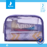 Transparent Pvc Ladies Travel Bags Waterproof Travel Wash Bag