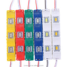 Pink red green blue yellow warm white white led module lights smd5730 LED modules DC12V led backlight for letter