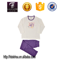 Factory price good selling children cotton knitted sleepwear