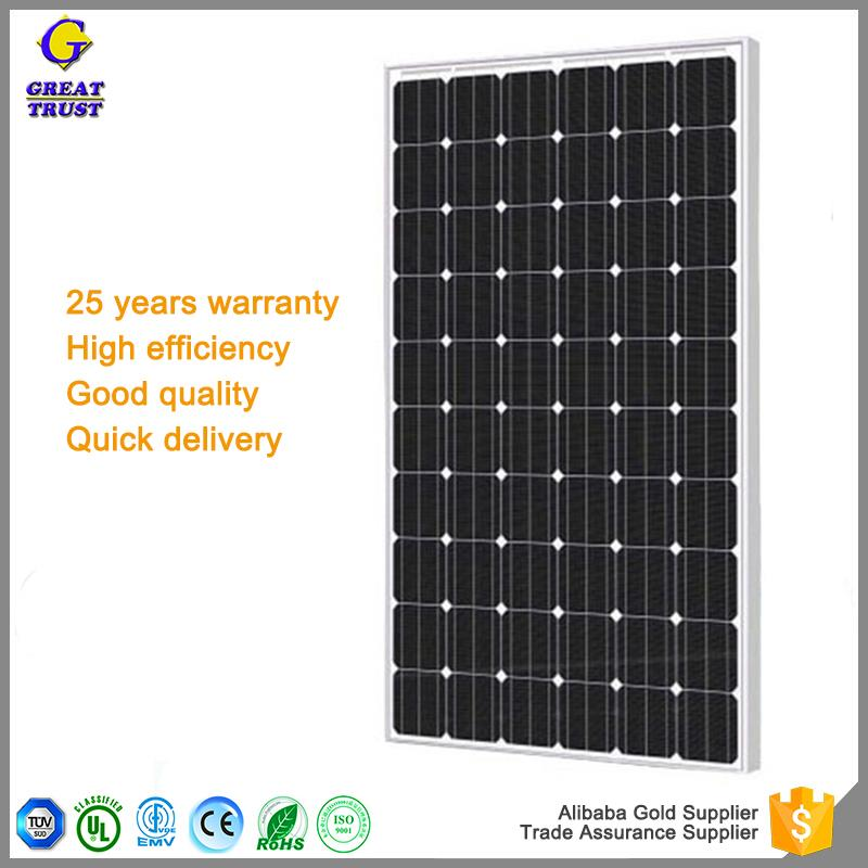 Brand new solar panel 60v pv solar panel price 250w solar panel water heater