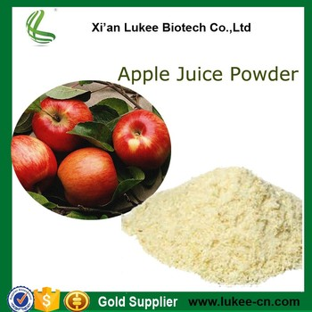 Factory Supply Dried Natural Apple Fruit Concentrate Powder