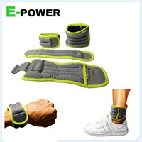 soft wrist weights/ankle weights
