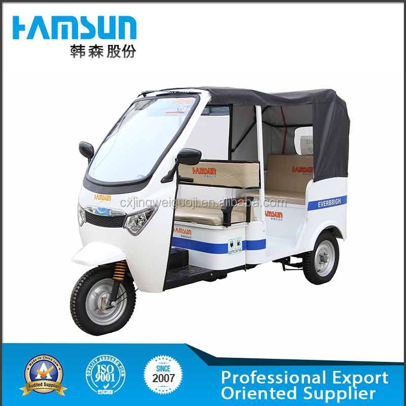 hot sale 6 passengers electric tricycle