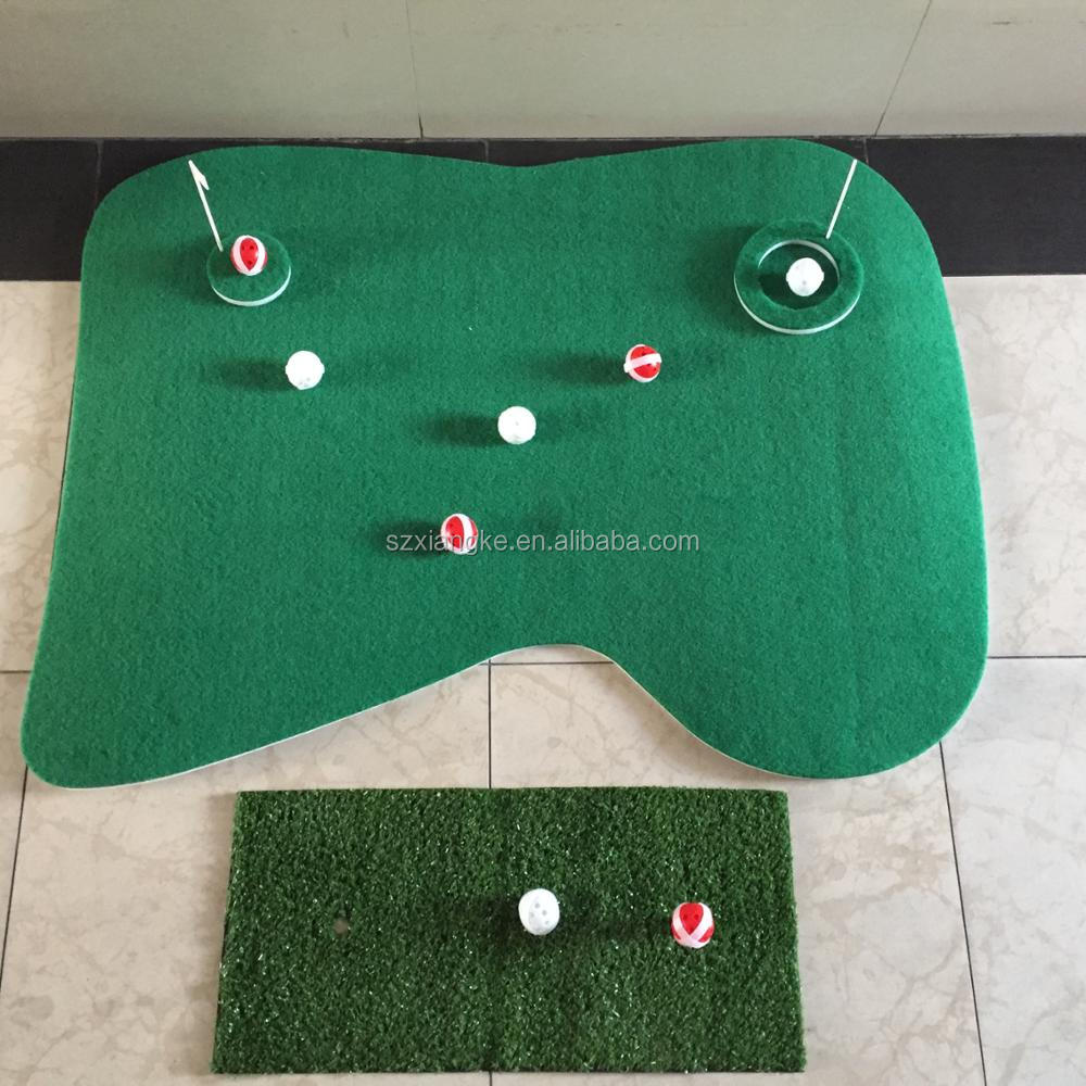 NEW Floating Golf Green Swimming Pool Game