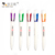 Chinese Factory White Barrel Best Quality Retractable Plastic Ballpoint Pens With Custom Logo