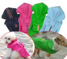 Pet Clothing Large dog clothes Heavy Duty Raincoat Cloak Water Proof