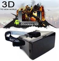 "Universal Google Cardboard Virtual Reality Head Mount 3D Video Glasses 3D Movies Games for 3.5-5.6"" Phone Google VR 3D Glasses i"