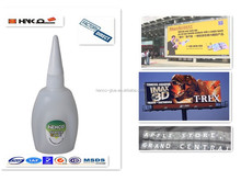 20g 40g 50g Cyanoacrylate Instant Glue in bottle for Flex banner