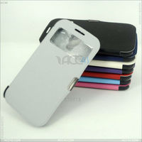 Smart View Flip Cover With Magnetic flap closure Case for SAMSUNG Galaxy S4 S IV SIV S 4 Iv Gt-i9500 P-SAMI9500CASE049