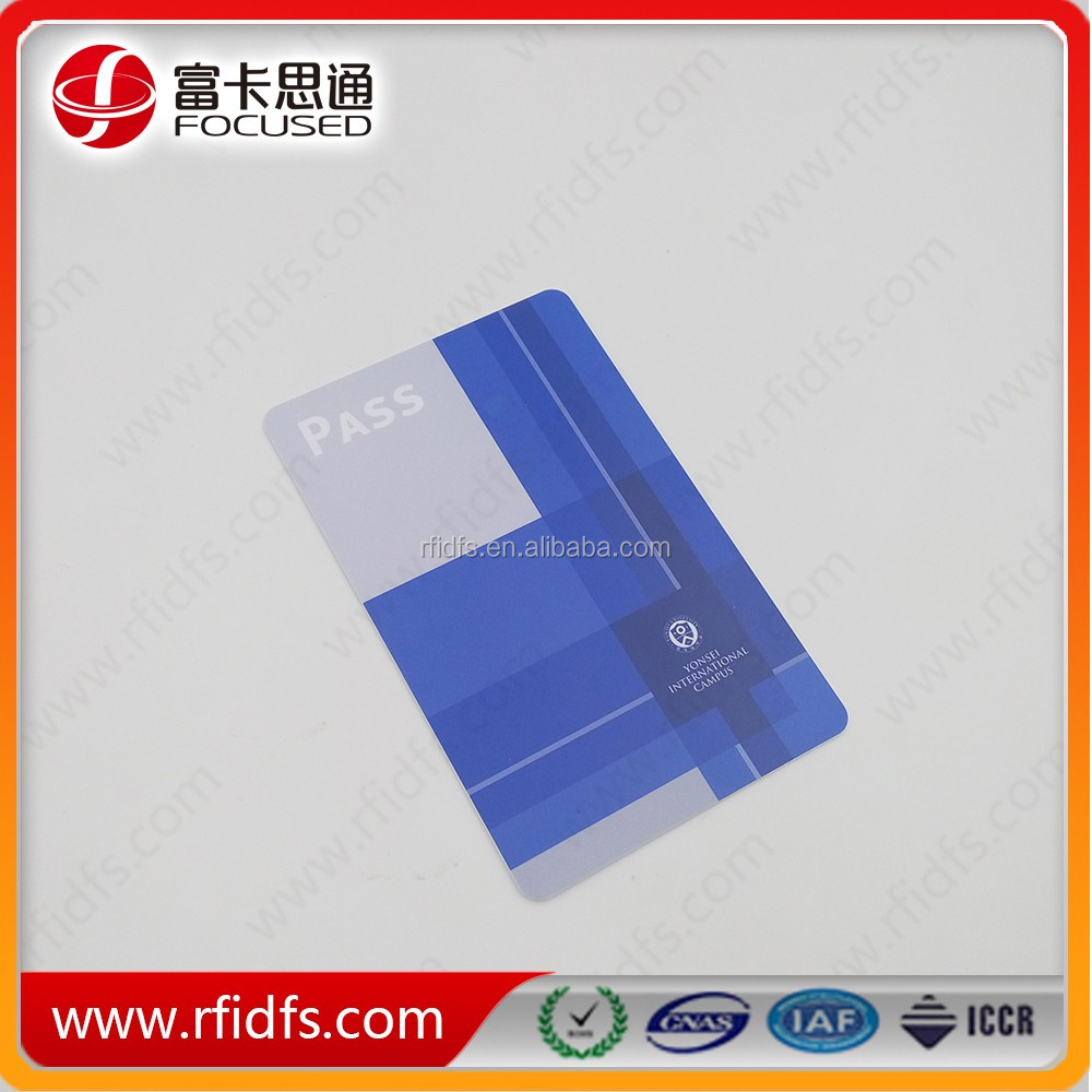 Free sample good quality MIFARE Ultralight NFC card with lowest price and good service