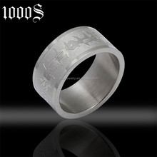 affordable price stainless steel none stone ring for party